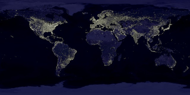 "NASA's ""Earth's City Lights"""